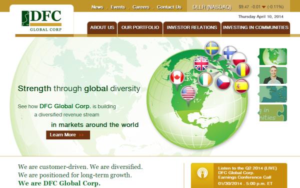 VISTA Careers – DFC Global Corp.