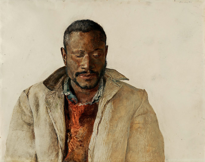 Secrets in Andrew Wyeth's Artwork of African-Americans Paint New Picture of His View on Race