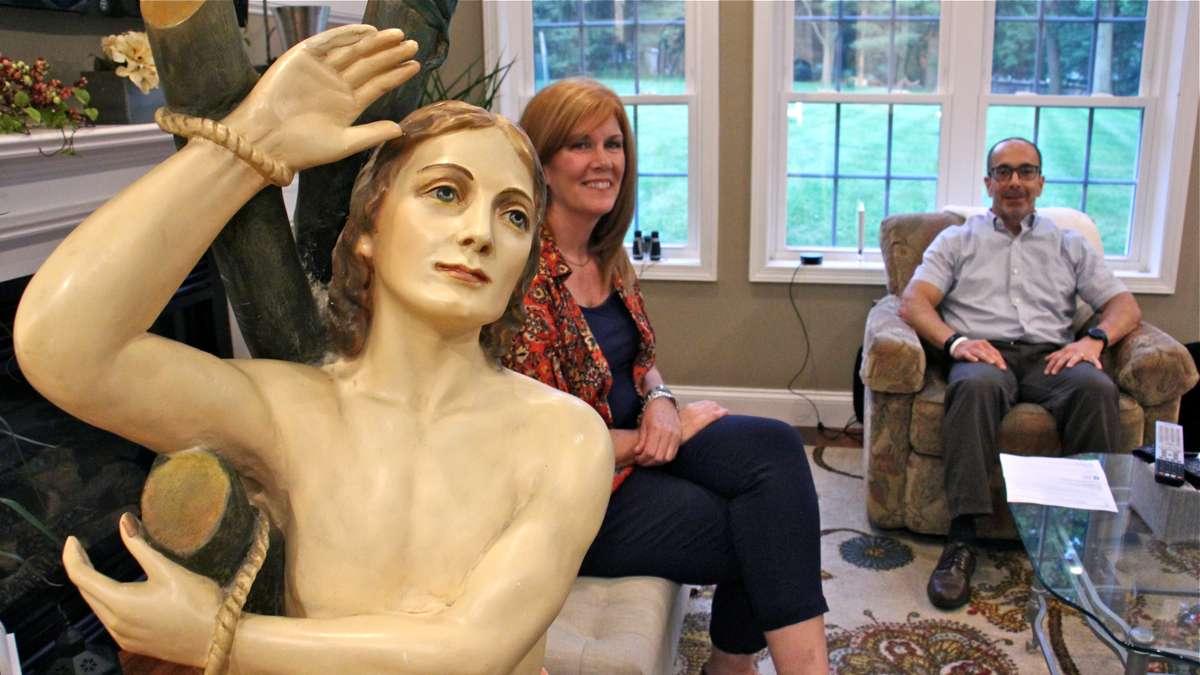 Exton Couple Seeks Return of Revered Statue to Italian Shrine