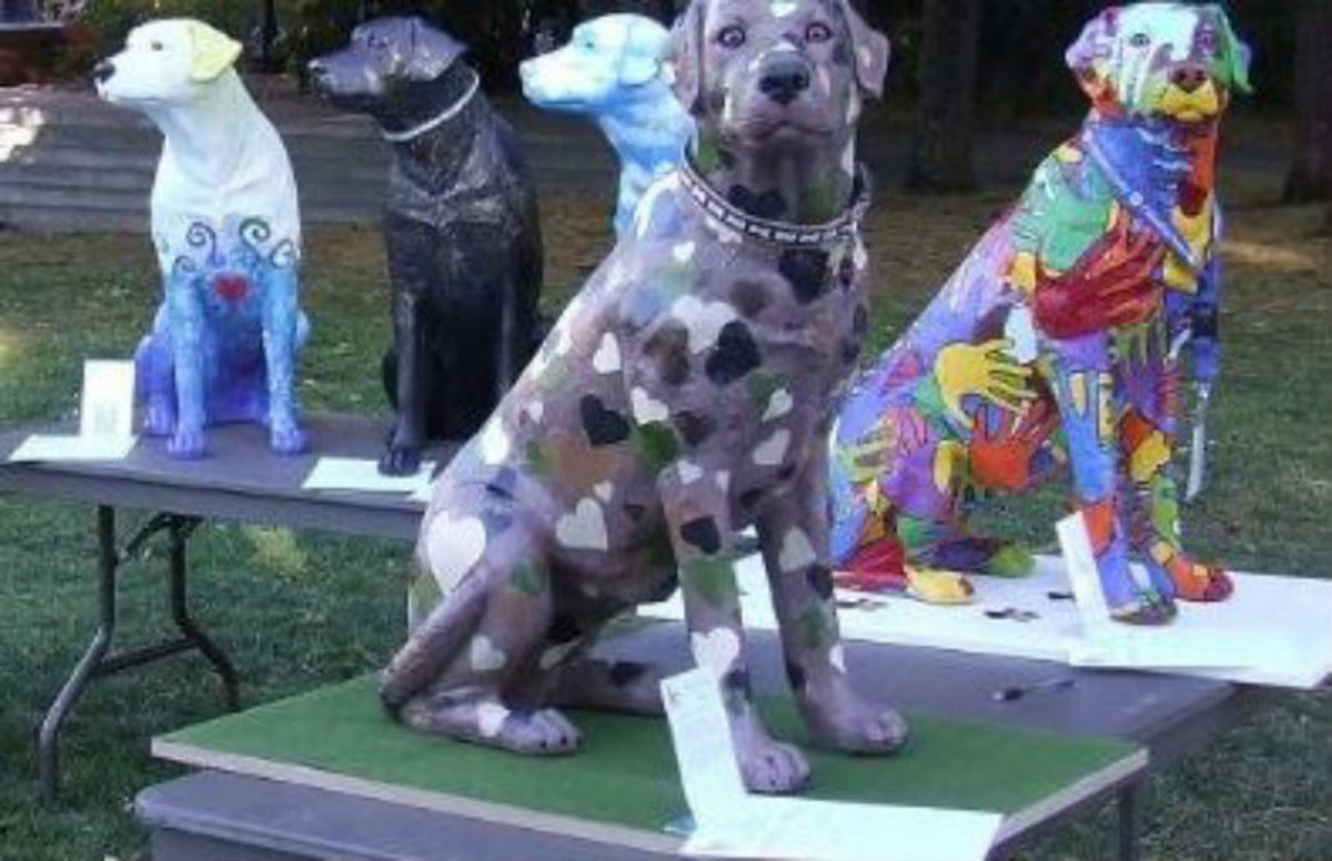 Dog Art Stirs Up Controversy in Malvern