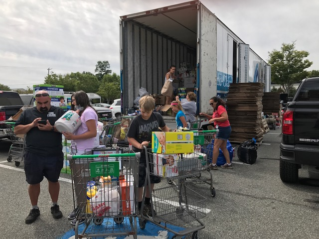 Local First Responders Team Up for Hurricane Harvey Relief Effort