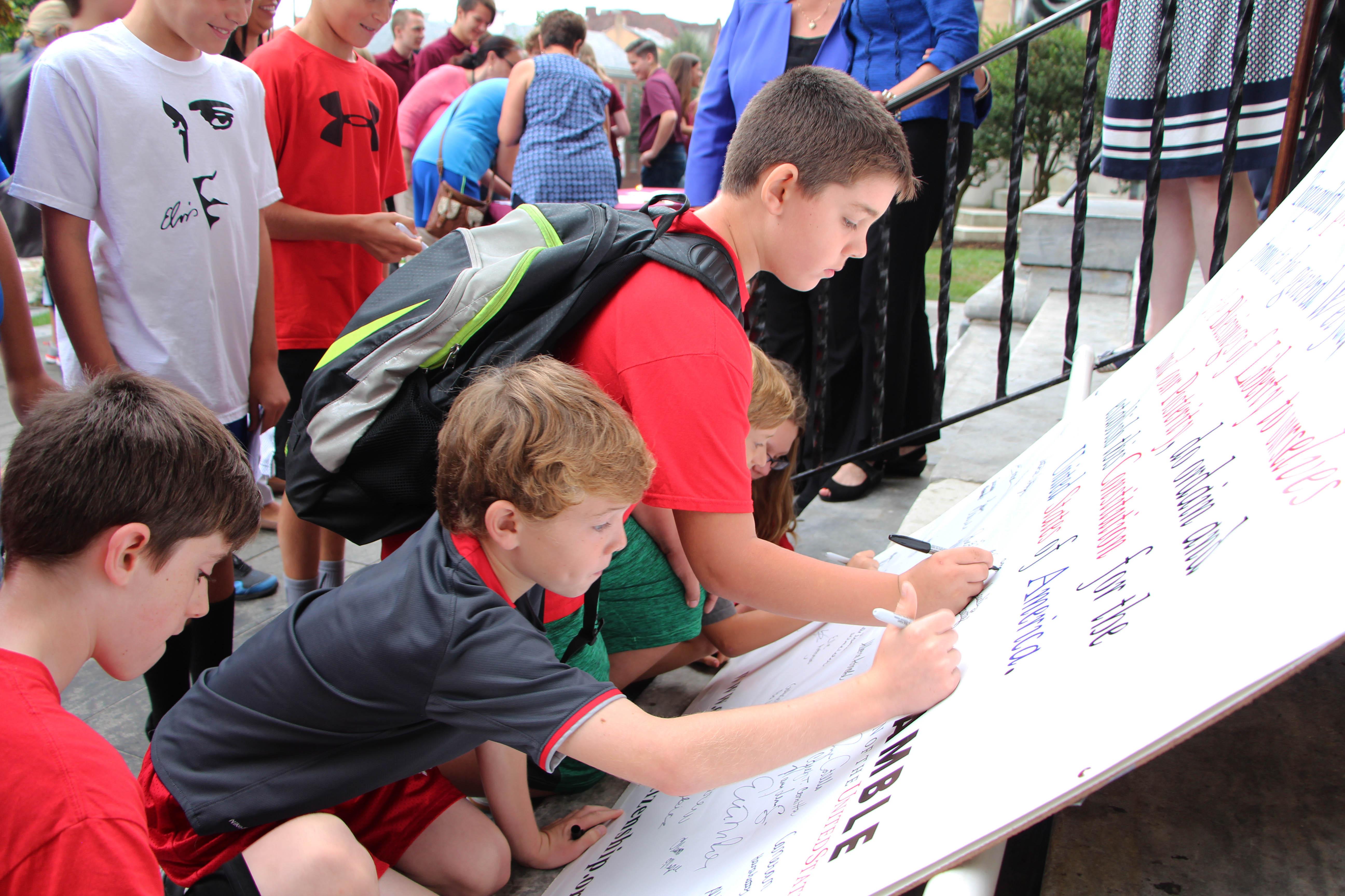 Students, Legislators Celebrate Chester County Constitution Day