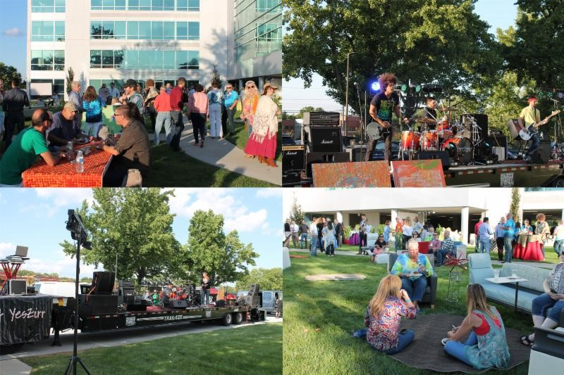 Corporate Interiors' Woodstock-Themed Event in Wayne a Huge Success