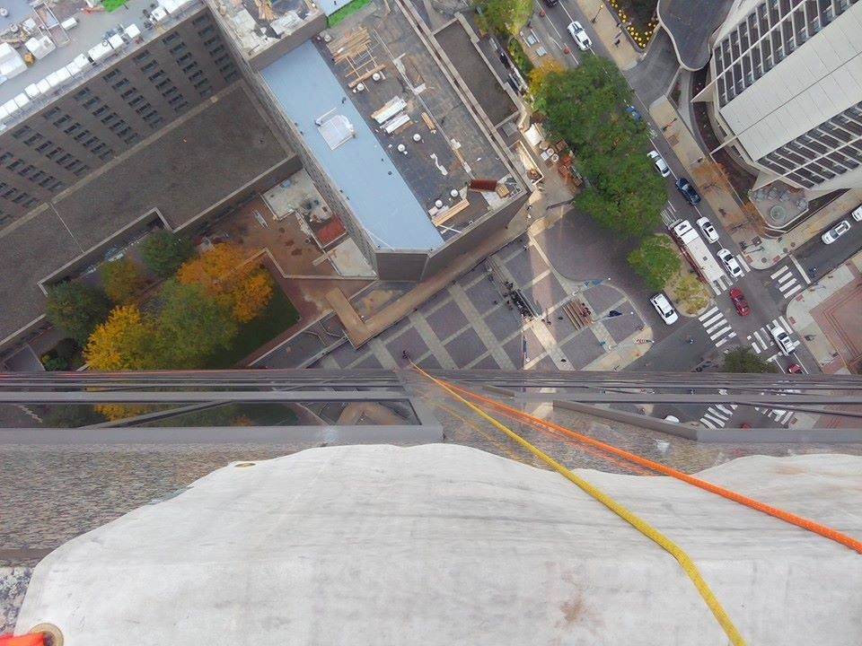 Local Businessman Needs Your Help to 'Go Over the Edge' for Charity