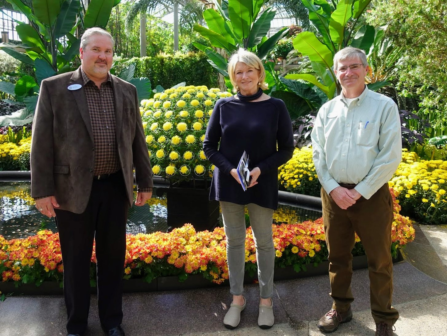 Longwood Gardens Leaves Lasting Impression on Martha Stewart