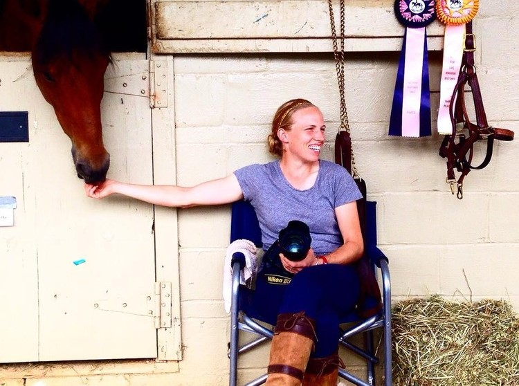Professional Dressage Rider from Oxford Not Letting Breast Cancer Dictate Her Dismount