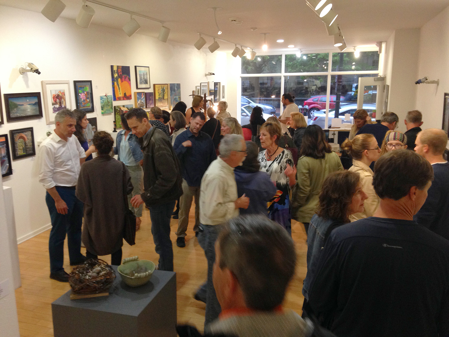 GWCC Hosts Incredible Evening of Art in West Chester During Annual Gallery Walk