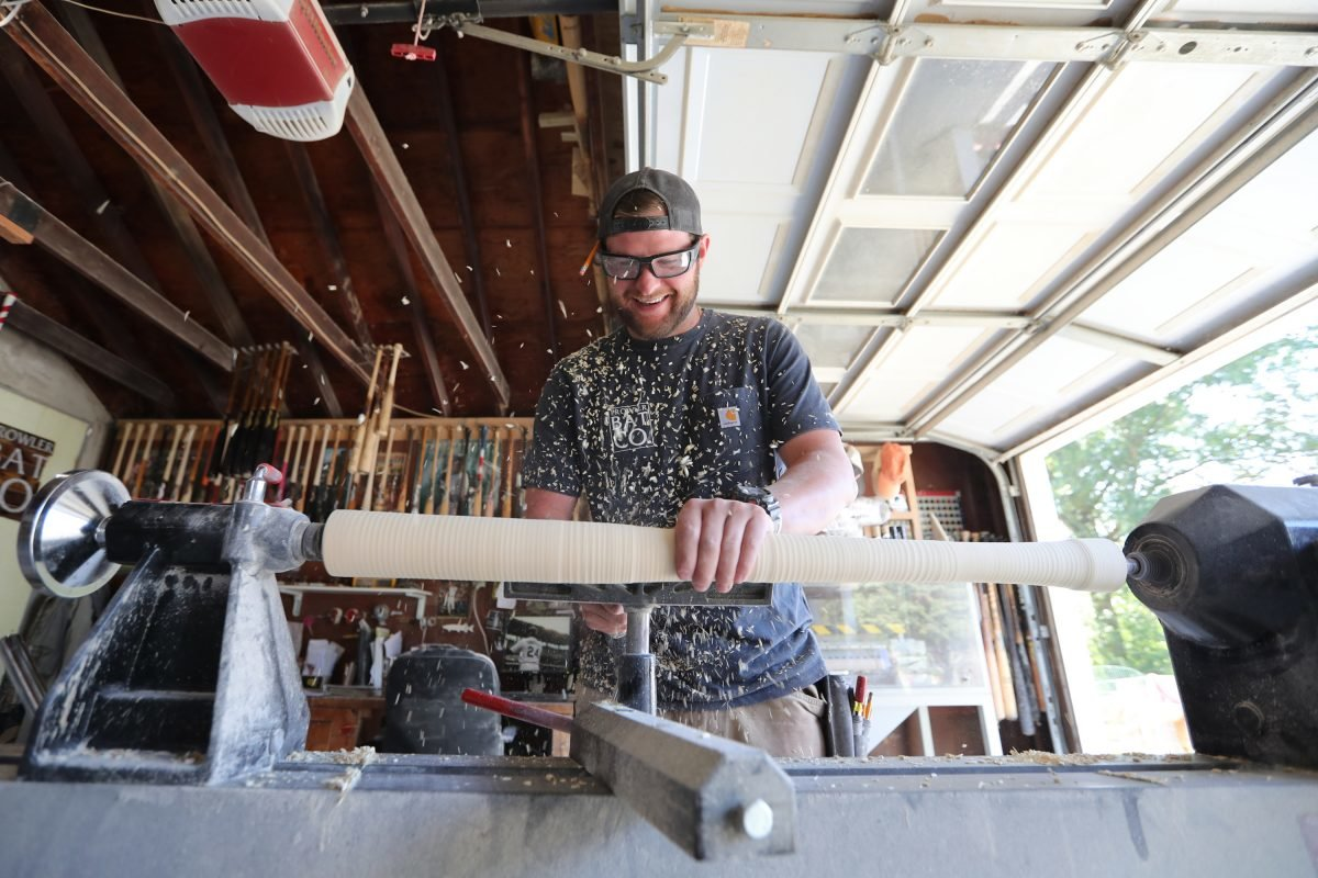 West Chester Resident Aims to Take Over Major League Baseball with His Handmade Bats