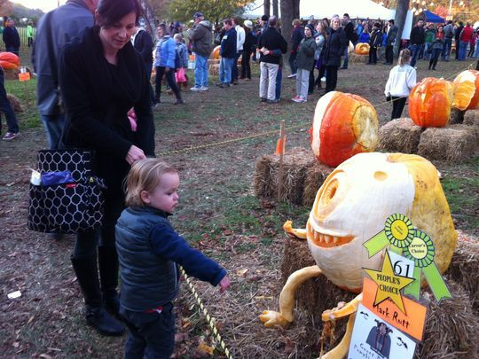 Pumpkin Tradition Started by Andrew Wyeth Delights Both Young and Old