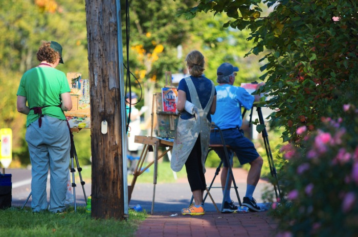 Plein Air Brandywine Valley a Celebration of Artists' Interpretation of Region's Beauty