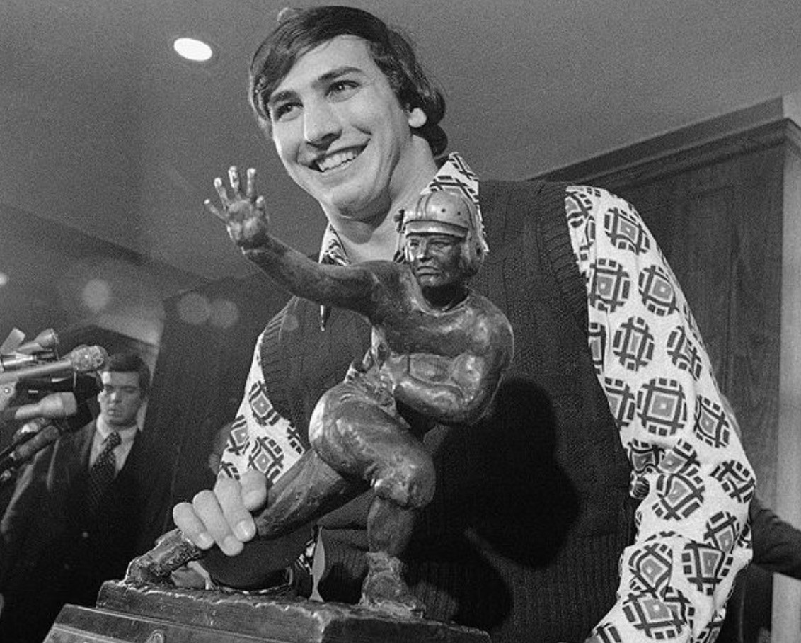 Upper Darby Native the Only Penn State Player to Win College Football's Heisman Trophy