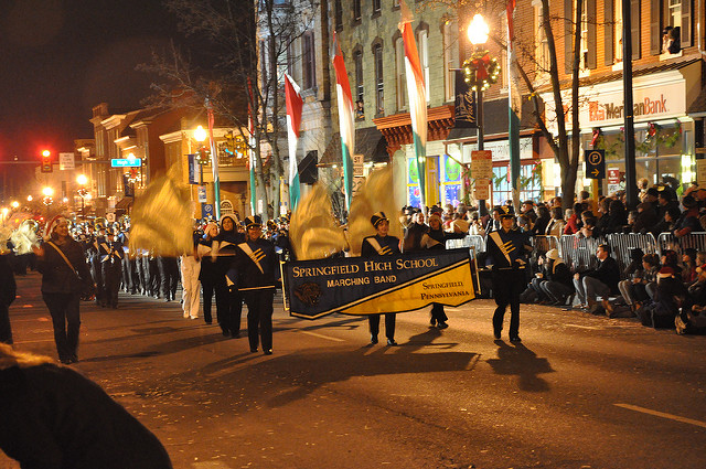 QVC West Chester Christmas Parade Tonight