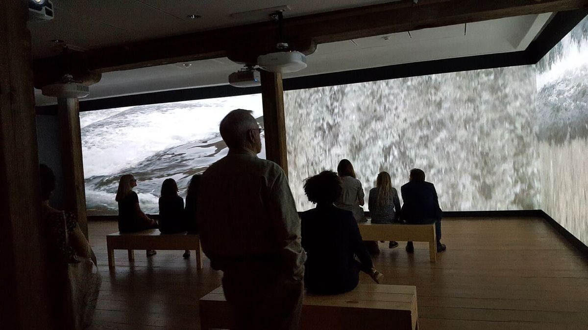 Museum Resident's Exhibit Provides Beautiful Vistas of Brandywine River