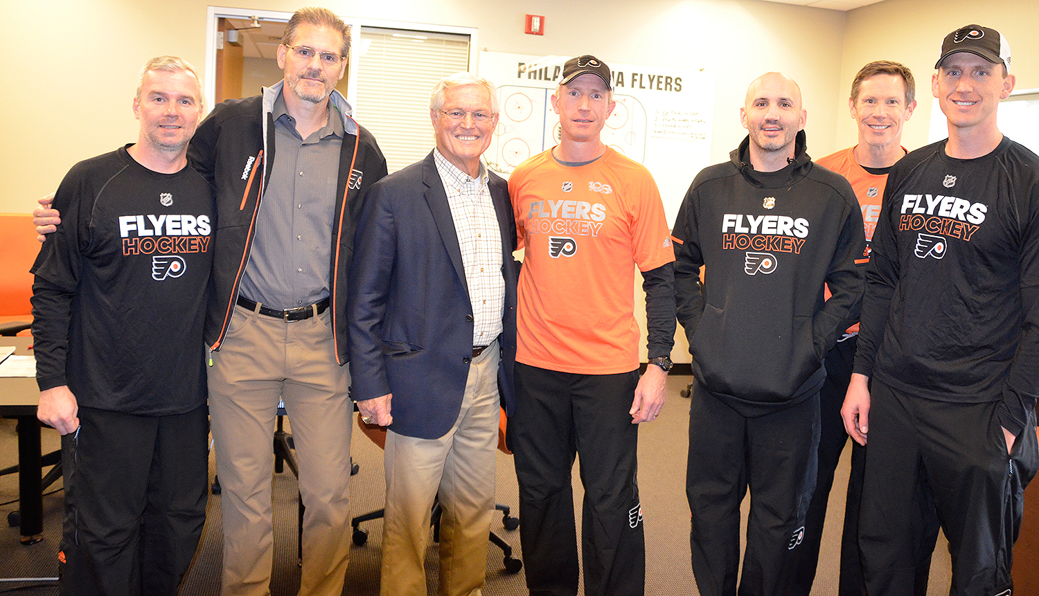 Flyers Receive Inspiration from East Fallowfield's Dick Vermeil