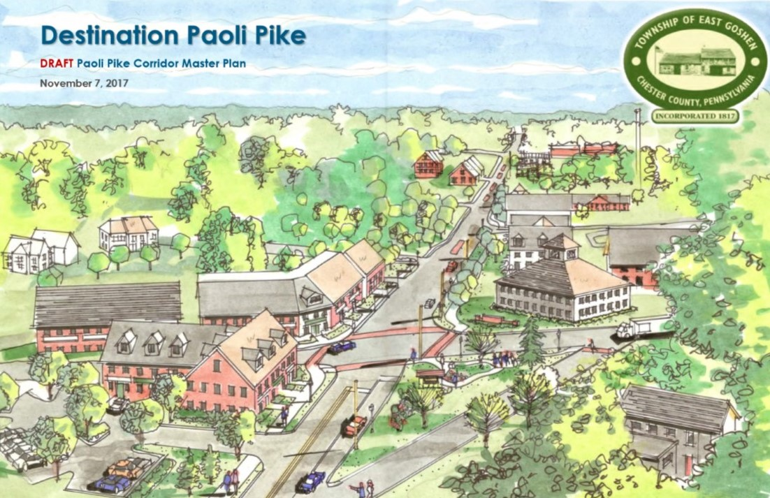 East Goshen Township Unveils Spellbinding Plan to Transform Paoli Pike Corridor