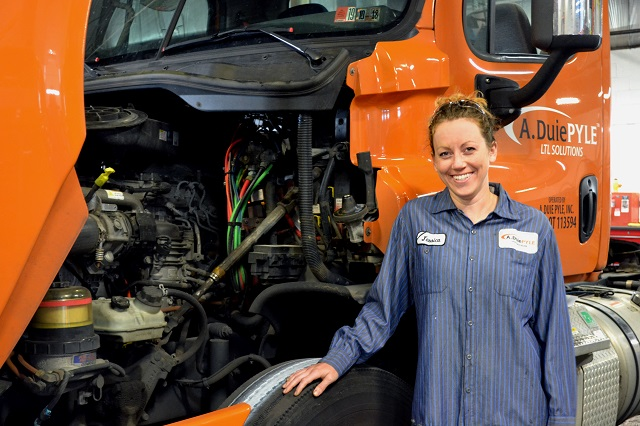 West Chester's A. Duie Pyle Paves Way for More Women in Trucking