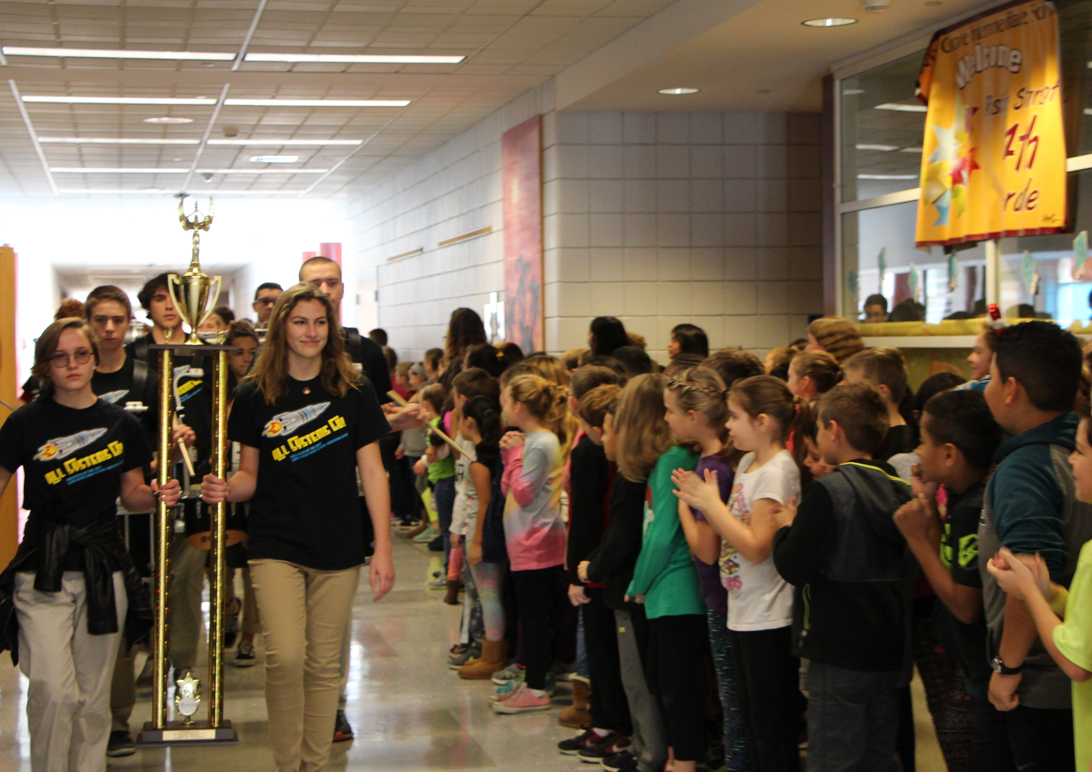 School District Salutes State-Champion Marching Band from Avon Grove High School