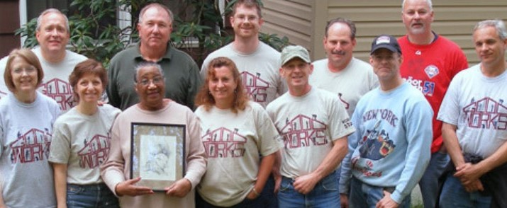 Good Works Ensures Local Homeowner Will Be Warm This Winter