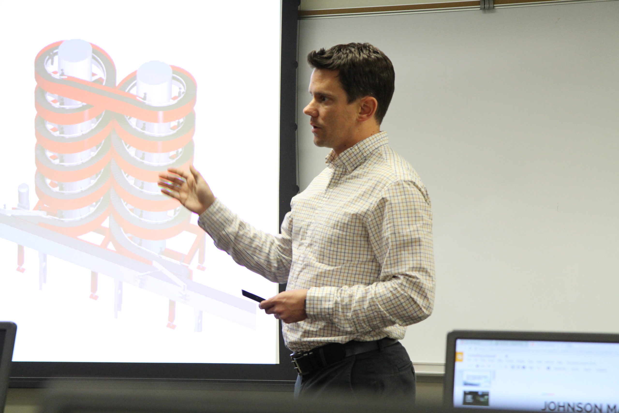 Engineering Students at Penn State Great Valley Evaluate Johnson Matthey's Production