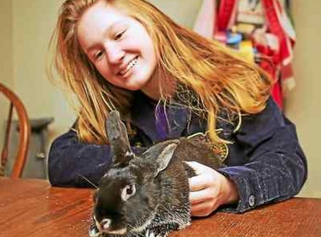 East Nottingham Resident, Her Rabbit Win Best of Class at Farm Show