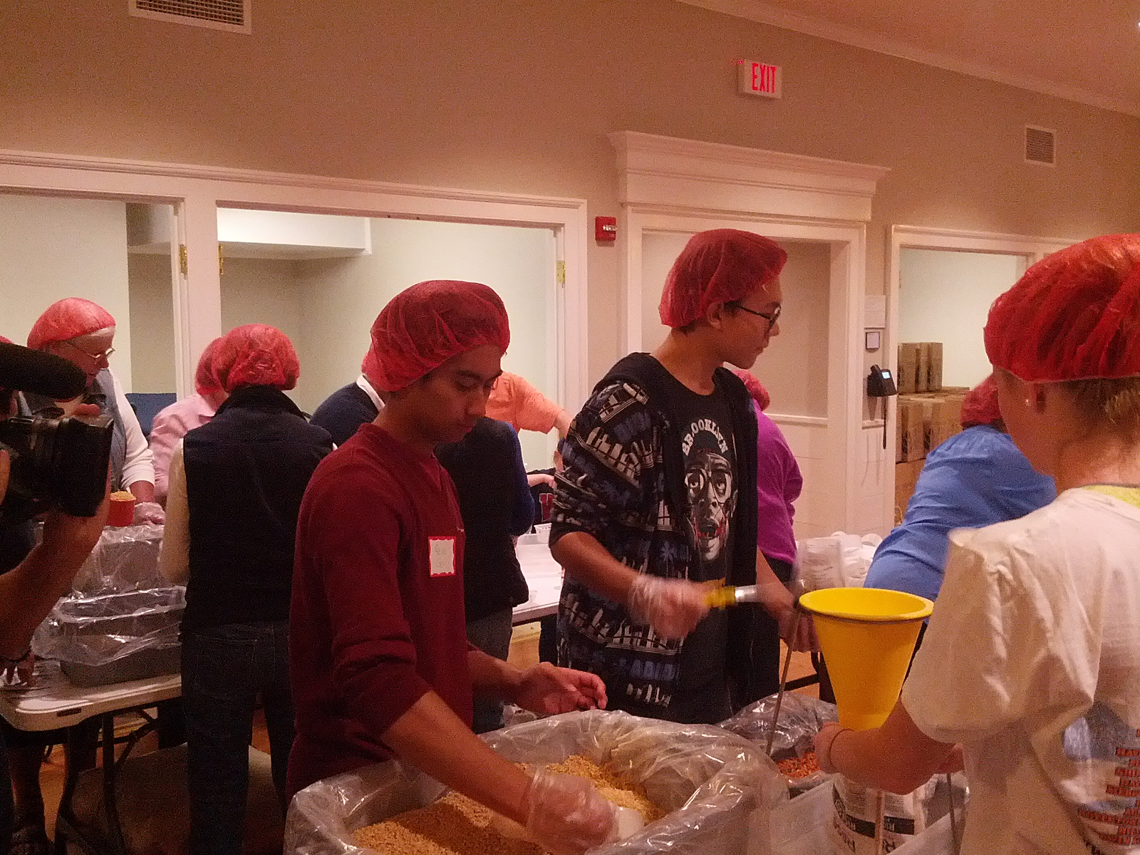 Church Farm School to Pack 100,000 Meals for Rise Against Hunger