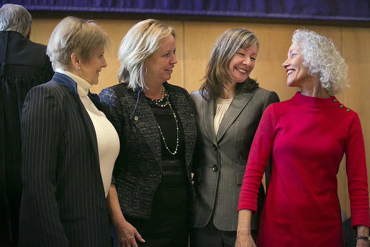 Four Chester County Women Sworn into Posts Not Held by Democrats for a Century
