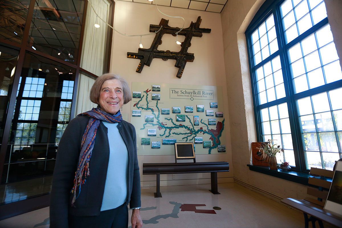President of Schuylkill River Heritage Center Aims to Bring Back Phoenixville Mural