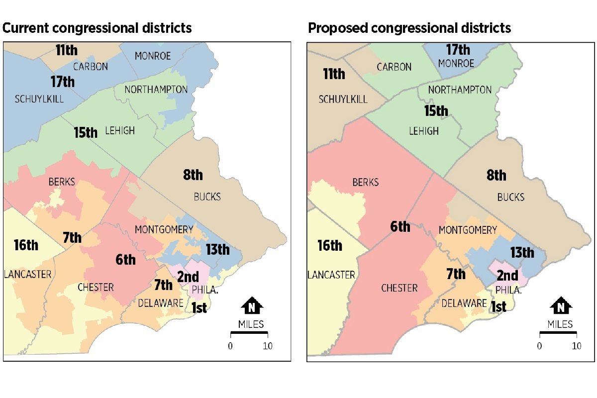 Democrats Urge Gov. Wolf to Reject Republican-Proposed Congressional Map