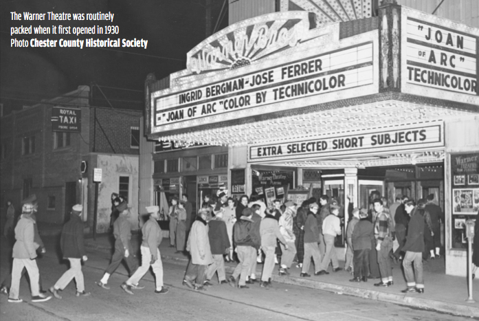 Looking Back on Valiant Efforts to Save the Warner Theater in West Chester