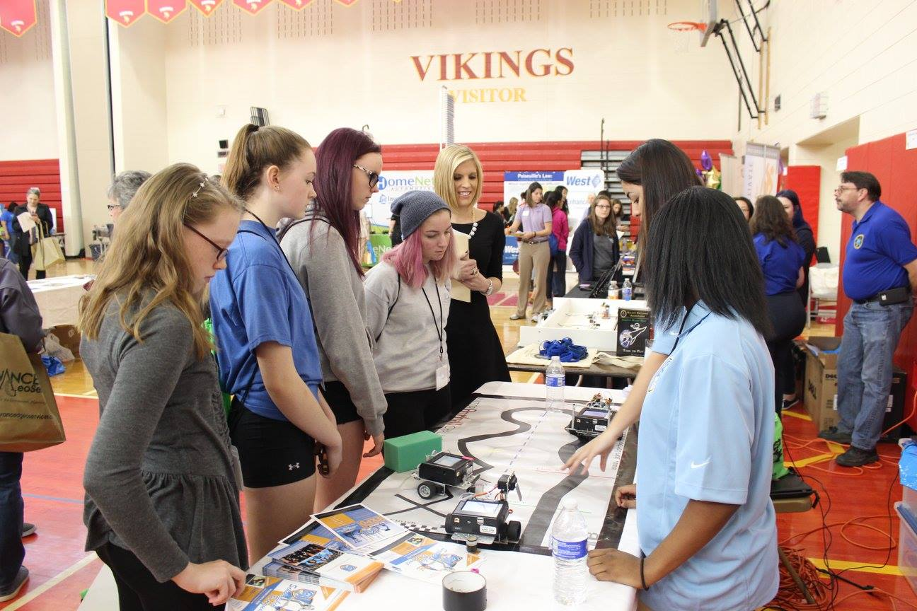 Girls from Nine Counties to Explore Tomorrow's Technology at Phoenixville Middle School