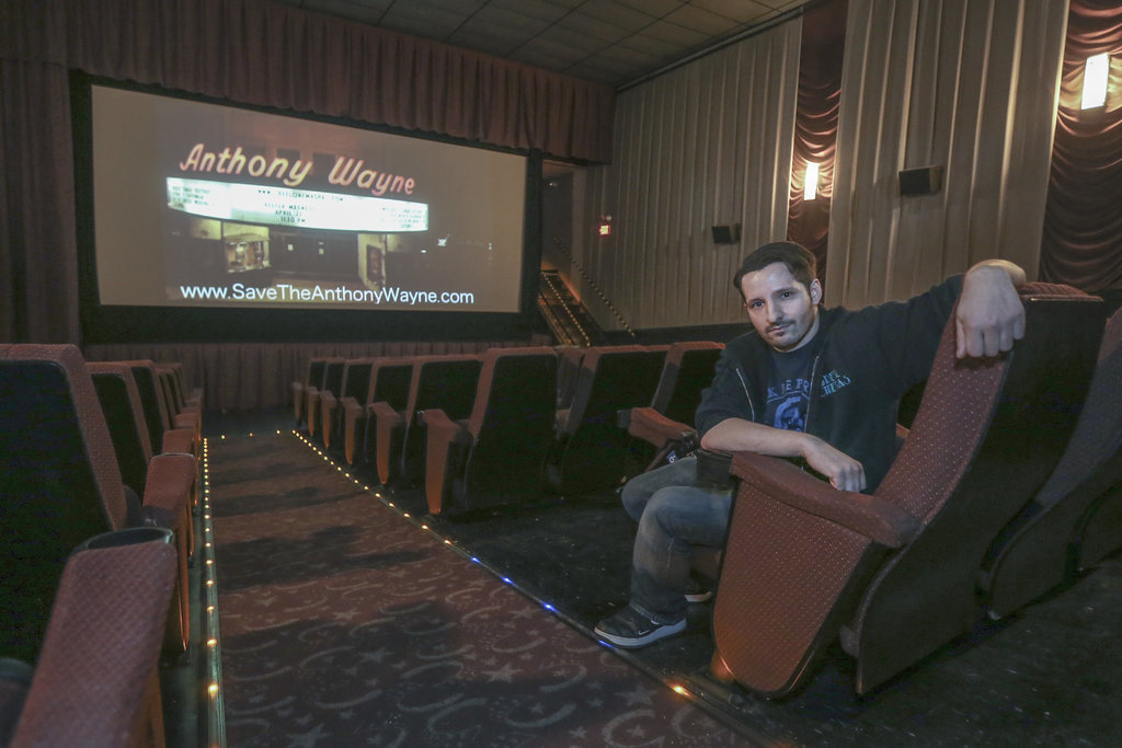 Campaign Hopes to Save Nine-Decades-Old Anthony Wayne Theater