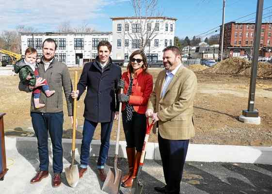 Two Municipalities Work Together to Break Ground for Cannery Row Project in Kennett