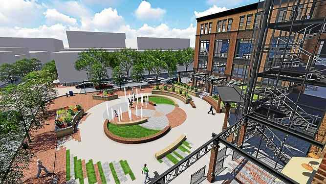 Plan for Mosteller Building Site in West Chester Approved