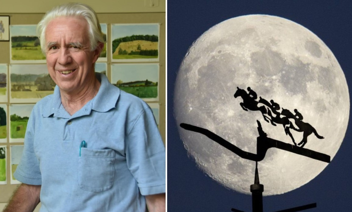 Unionville Sculptor the Artist Behind Willowdale Steeplechase's Iconic Weather Vane