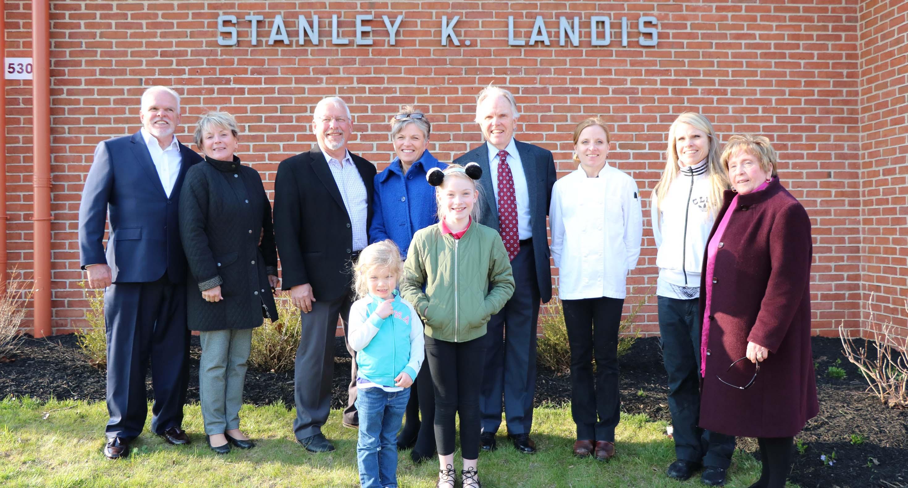 Legacy, Partnership Celebrated at Rededication Ceremony of CCIU's Stanley K. Landis Building