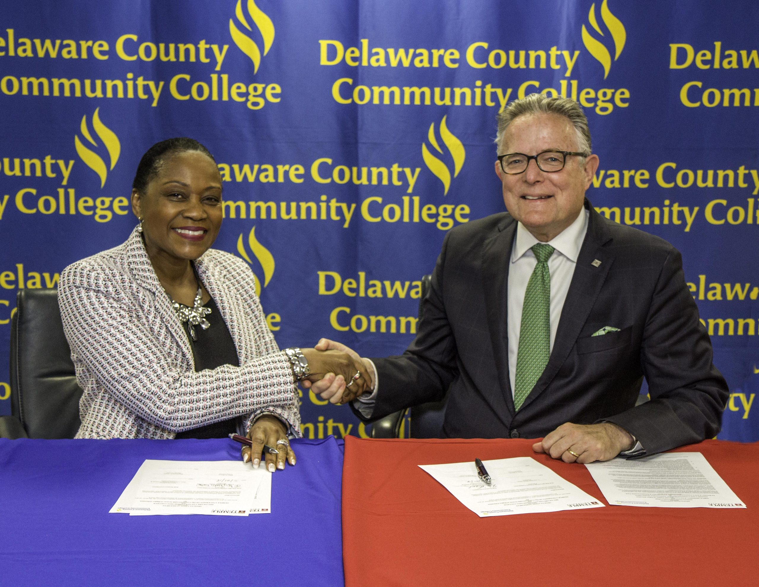 Temple University, Delaware County Community College Enhance Transfer Opportunities