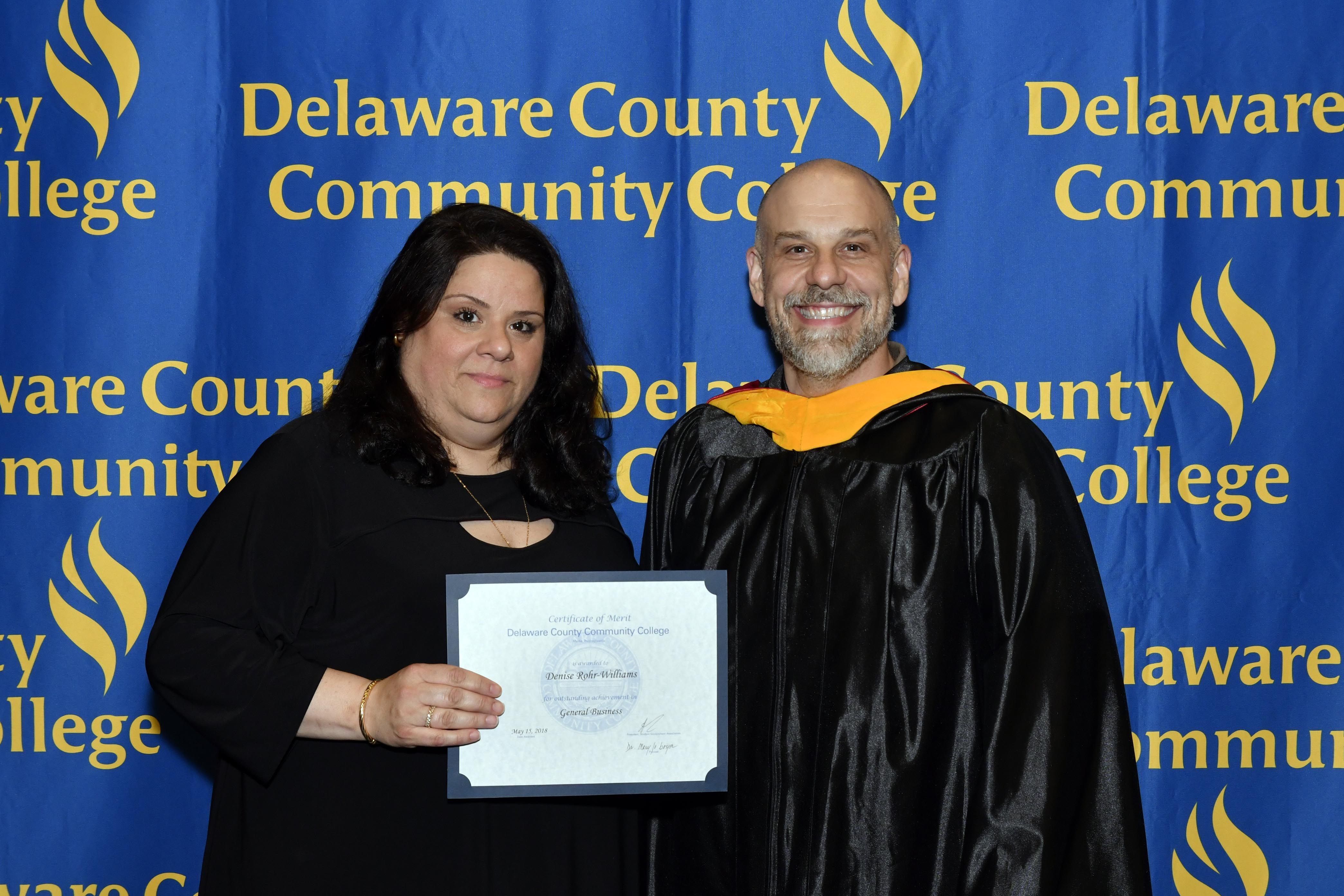 Malvern Woman, 51, Overcomes Adversity to Graduate from Delaware County Community College
