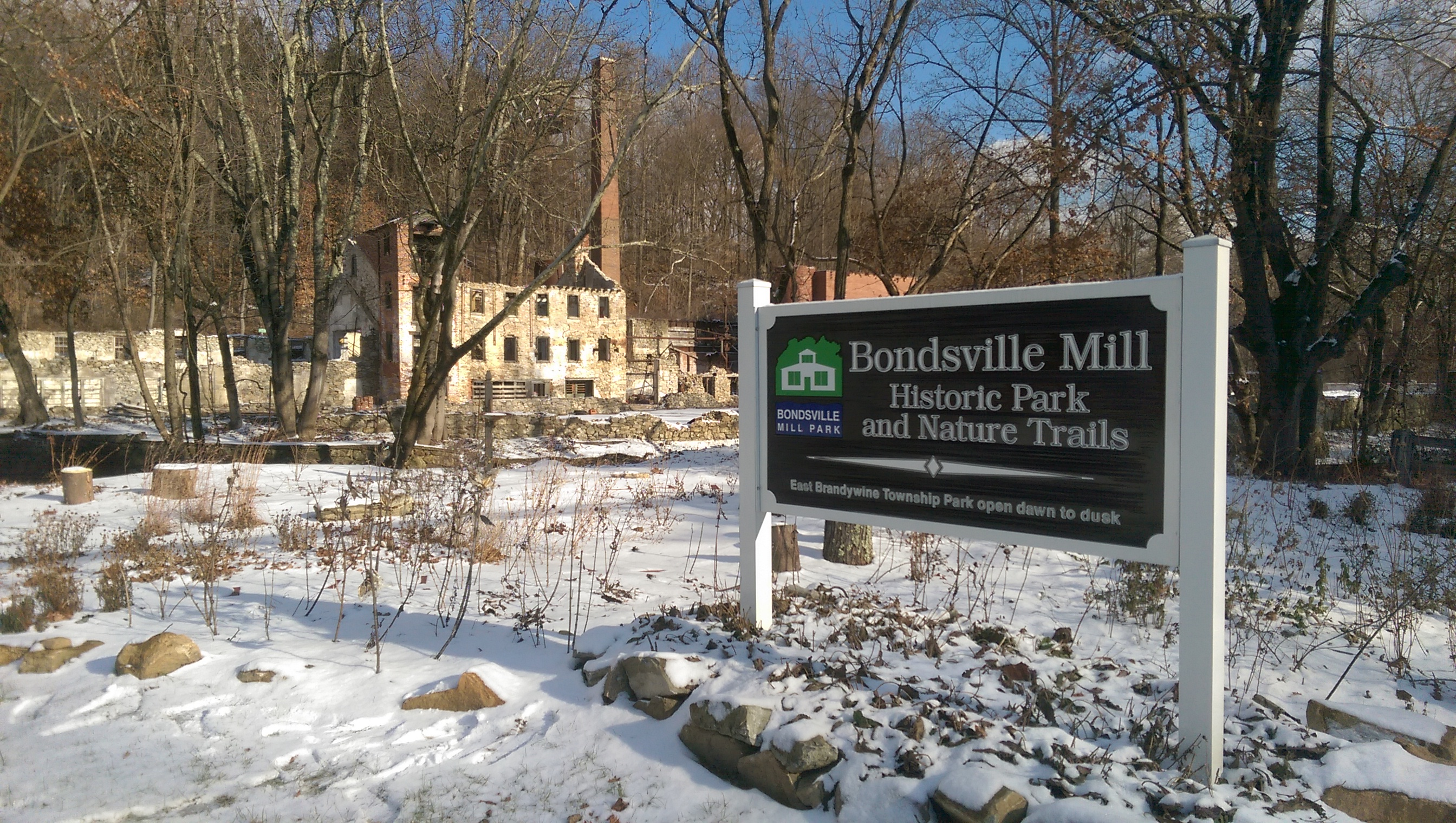 East Brandywine's Bondsville Mill Park Provides Visitors Historical, Natural Experience
