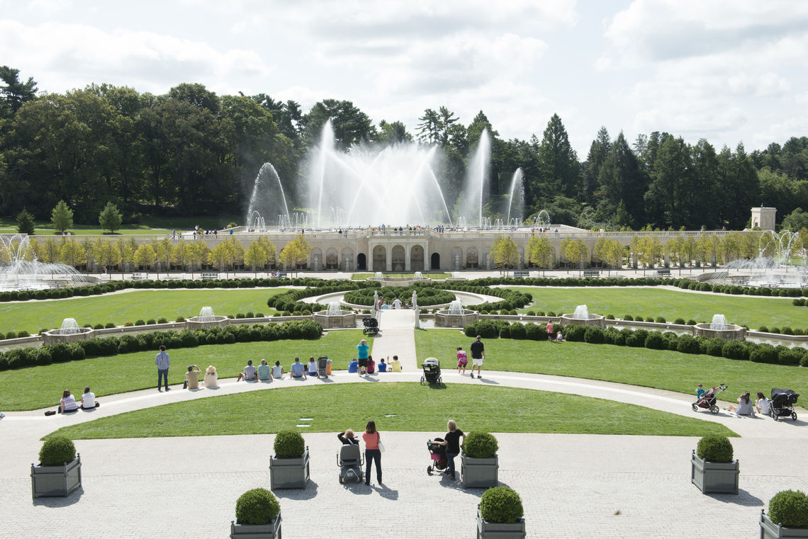 Charmant Main Fountain Garden At Longwood Gardens Honored For Engineering Excellence