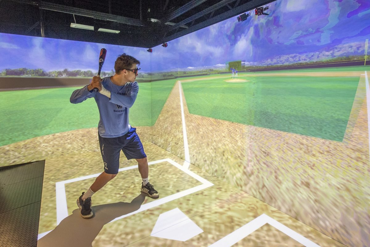 Batting Practice in 2018: Villanova Baseball Team Uses Virtual Reality to Improve Hitting