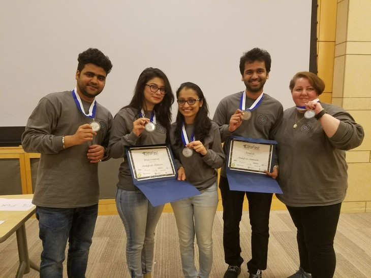 Team of Penn State Great Valley Students Excels at National Competition for Data Analysis