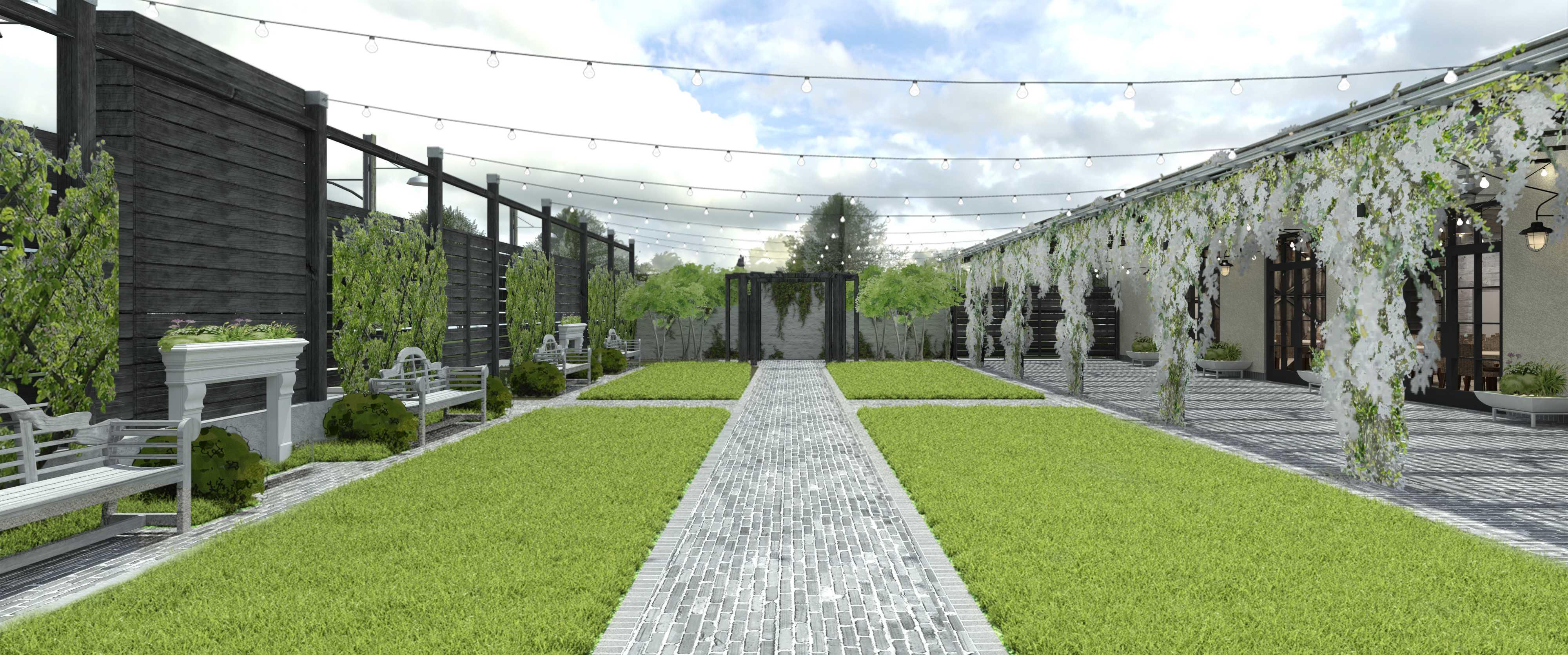 Terrain Gardens at Devon Yard to Offer Impressive Venue for Weddings