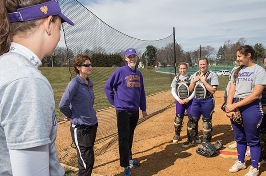WCU Softball Coach Ensures Players Win on the Field, in the Classroom