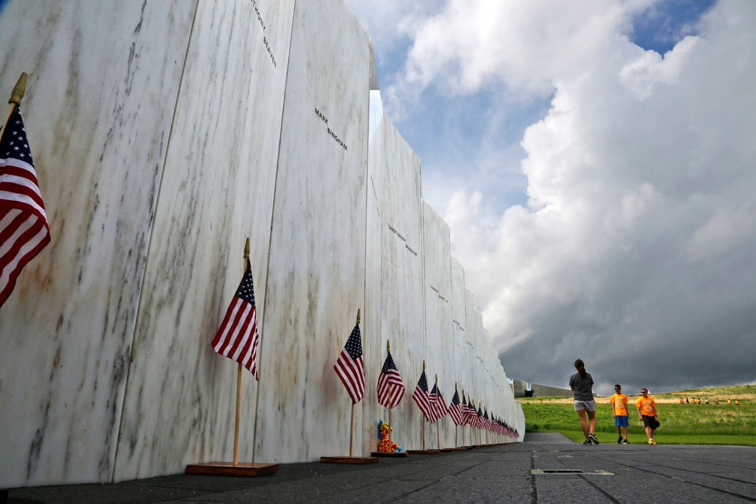 Remaining Wreckage from United Flight 93 Buried Near Memorial in Shanksville