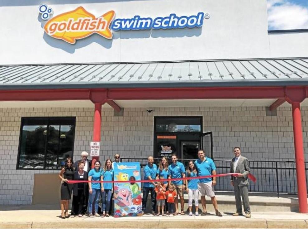 Goldfish Swim School Opens in Malvern