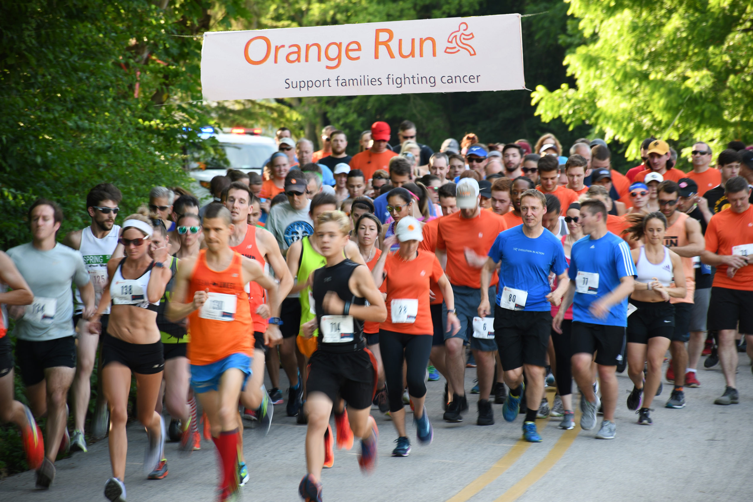 Seventh Annual Orange Run Raises $21,000 for Cancer Research, Support Services