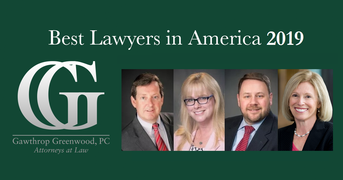 Four Gawthrop Greenwood Attorneys Among 'Best Lawyers in America'