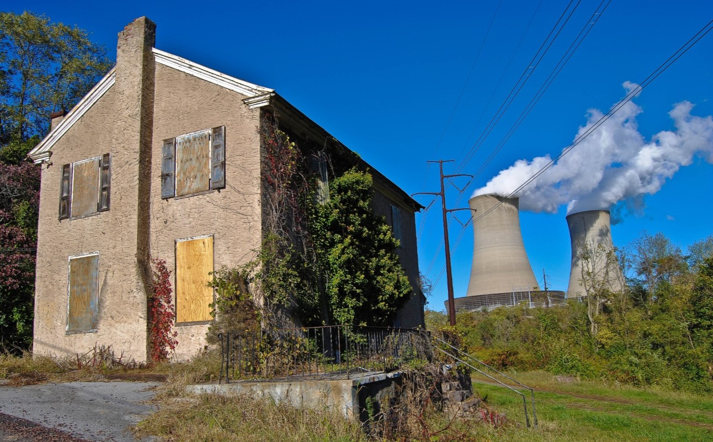 Once-Vibrant Village in East Coventry Township Now a Ghost Town Due to Nuclear Power Plant