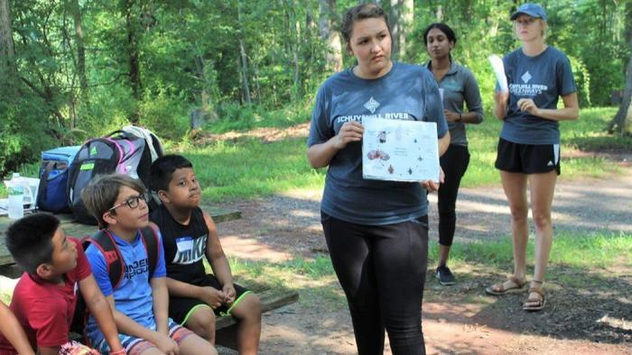 Hunt for Invasive Insect Takes Summer Campers to French Creek State Park
