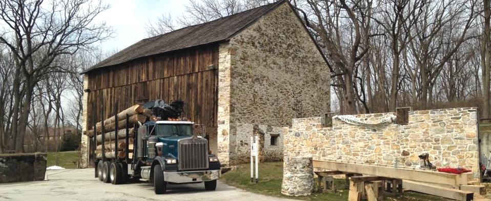 Tredyffrin Historic Preservation Trust Finds New Home for Jones Log Barn